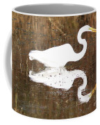 What The Egret Caught Coffee Mug