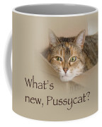 What's New Pussycat - Lily The Cat Coffee Mug