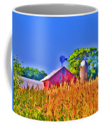 Wheat Farm Near Gettysburg Coffee Mug