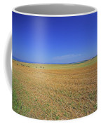 Wheat Field After Harvest Coffee Mug