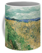 Wheat Field With Cornflowers At Wheat Fields Van Gogh Series, By Vincent Van Gogh Coffee Mug