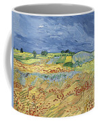 Wheat Field With Stormy Sky Coffee Mug