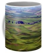 Wheat Fields Of The Palouse - Eastern Washington State Coffee Mug