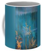 Wheat On Blue 1 Coffee Mug