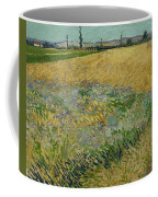 Wheatfield Arles, June 1888 Vincent Van Gogh 1853 - 1890 Coffee Mug