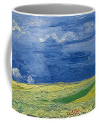 Wheatfields Under Thunderclouds Coffee Mug