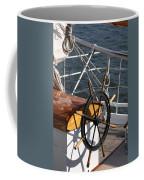 Sailingship Wheel Coffee Mug