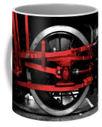 Wheel Of Red Steel Coffee Mug