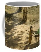 Wheelbarrow Girl  Coffee Mug