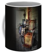 Wheelchairs Of Yesteryear By Kaye Menner Coffee Mug