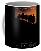 When Silhouettes Come Out Coffee Table Book Cover Coffee Mug