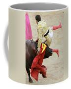 When The Bull Gores The Matador V Coffee Mug