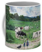 When The Cows Come Home, It's Milking Time Coffee Mug