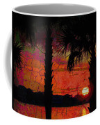 When The Day Ends Time Is Exhausted Coffee Mug