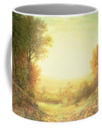 When The Sun In Splendor Fades Coffee Mug by John MacWhirter