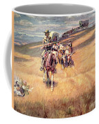 When Wagon Trails Were Dim Coffee Mug