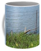 Where The Fence Ends Coffee Mug