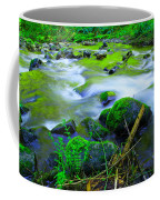 Where The Golden Waters Flow Coffee Mug