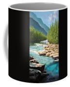Where The Trout Run Coffee Mug