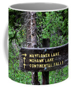 Which Way To Mayflower Lake Coffee Mug
