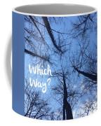 Which Way? Coffee Mug