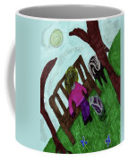 While Riding My Pony I Noticed A Butterfly Coffee Mug
