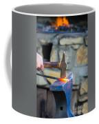 While The Iron Is Hot Coffee Mug
