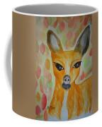 Whimsical Autumn Doe Coffee Mug