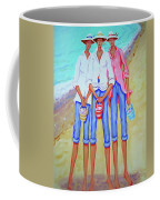 Whimsical Beach Women - The Treasure Hunters Coffee Mug