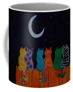 Whimsical Cats Coffee Mug