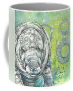 Whimsical Manatee Coffee Mug