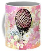 Whimsical Musing High In The Air Pink Coffee Mug