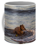 Whippet Cooling Off Coffee Mug
