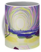 Whirling Sunrise - La Rocque Coffee Mug by Derek Crow