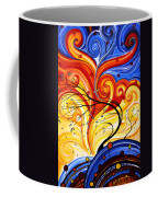 Whirlwind By Madart Coffee Mug by Megan Duncanson