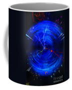 Whirlwind Of History. When Time Machine Is In Action Coffee Mug
