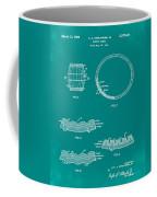 Whiskey Barrel Patent 1968 In Green Coffee Mug