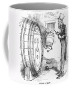Whiskey Ring Cartoon, 1876 Coffee Mug