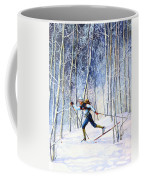 Whispering Tracks Coffee Mug by Hanne Lore Koehler