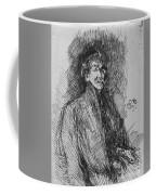 Whistler, Self-portrait.  Coffee Mug
