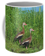 Whistling Ducks Coffee Mug