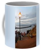 Whitby Steps Blue Hour Coffee Mug