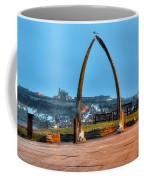 Whitby Whalebone Blue Hour Coffee Mug