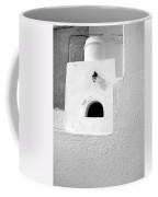White Abstract Coffee Mug