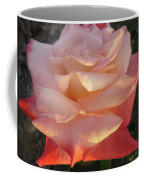 White And Peach Coffee Mug