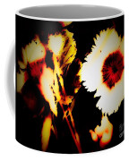 White And Red Dianthus Coffee Mug