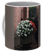 White And Red Coffee Mug
