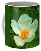 White And Yellow Flower Coffee Mug