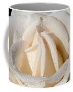White Angel Rose Coffee Mug