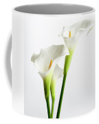 White Arums Coffee Mug